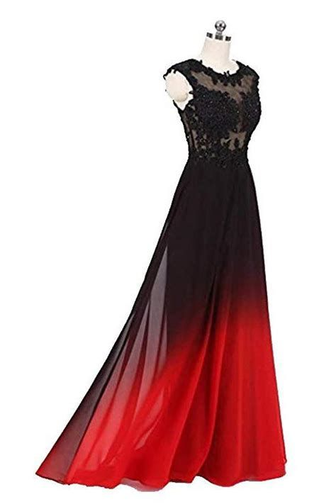 Totally Cute Red And Black Dress 02