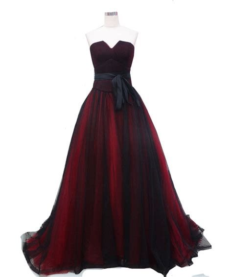 Totally Cute Red And Black Dress 14