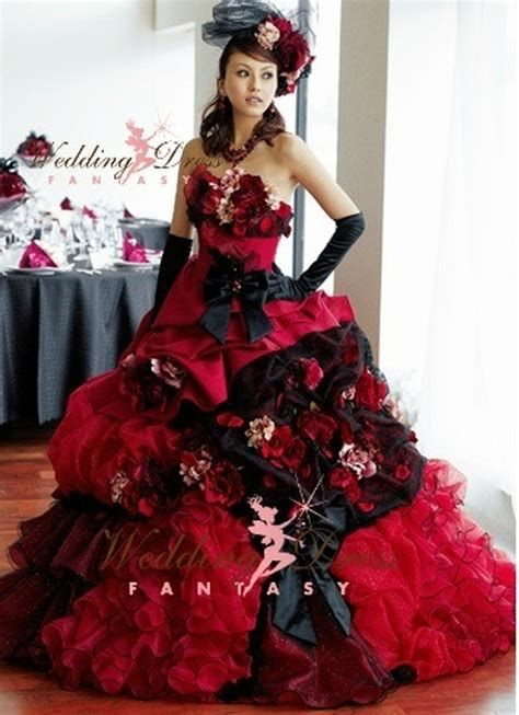 Totally Cute Red And Black Dress 17