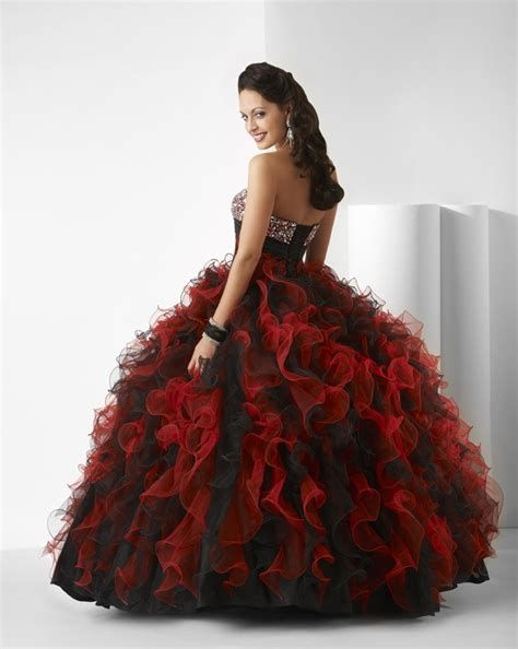 Totally Cute Red And Black Dress 41