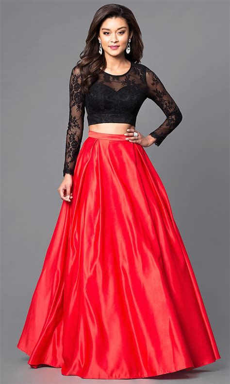 Totally Cute Red And Black Dress 42