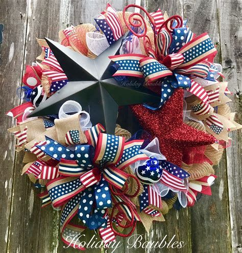 Totally Cute Rustic 4th Of July Decorations 02