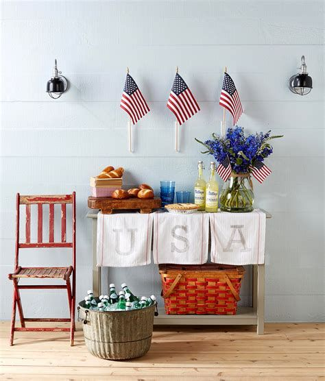 Totally Cute Rustic 4th Of July Decorations 08