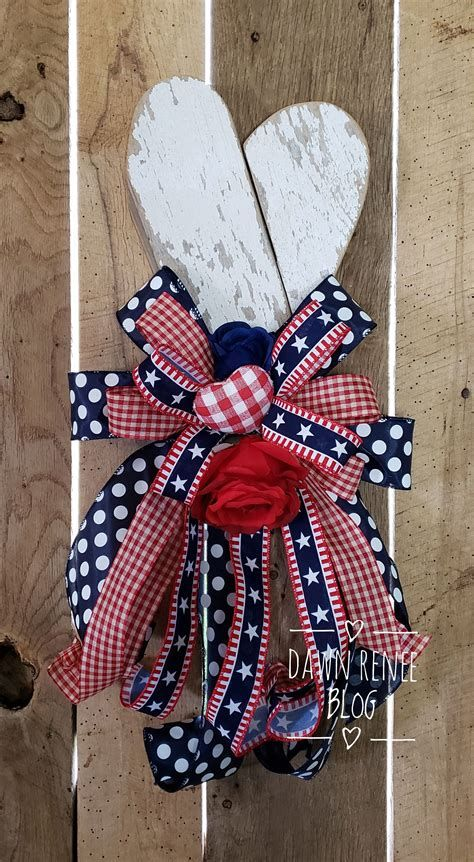 Totally Cute Rustic 4th Of July Decorations 10