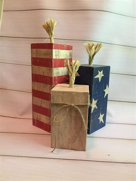 Totally Cute Rustic 4th Of July Decorations 11