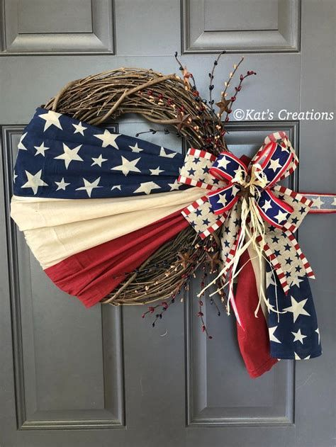 Totally Cute Rustic 4th Of July Decorations 12