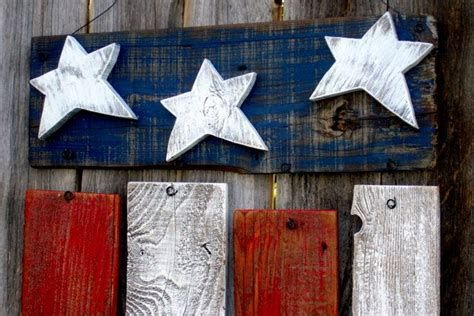 Totally Cute Rustic 4th Of July Decorations 13