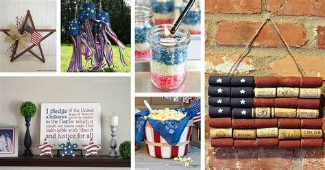 Totally Cute Rustic 4th Of July Decorations 14