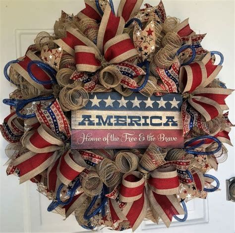 Totally Cute Rustic 4th Of July Decorations 18