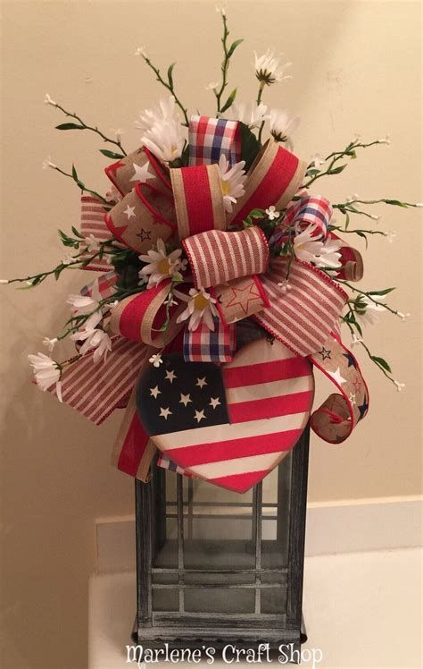 Totally Cute Rustic 4th Of July Decorations 19