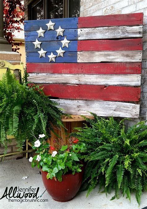Totally Cute Rustic 4th Of July Decorations 20