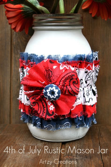 Totally Cute Rustic 4th Of July Decorations 21