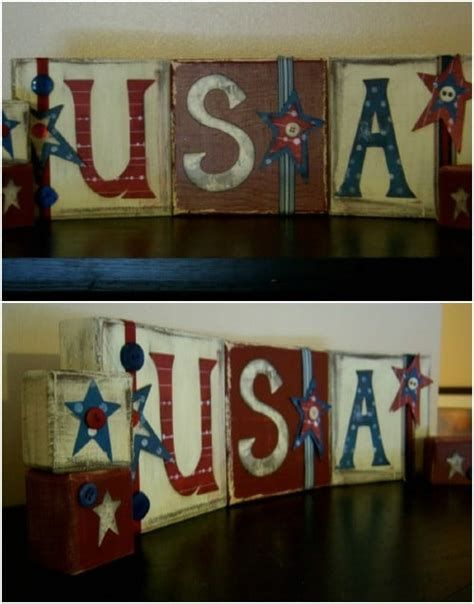 Totally Cute Rustic 4th Of July Decorations 23