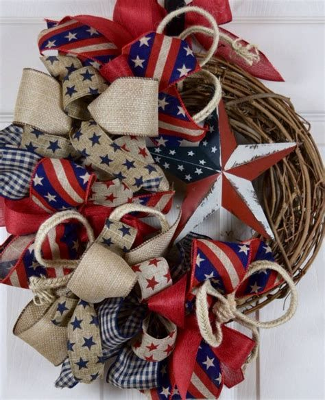Totally Cute Rustic 4th Of July Decorations 24