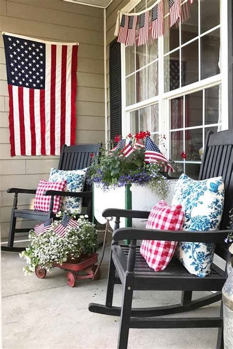 Totally Cute Rustic 4th Of July Decorations 25