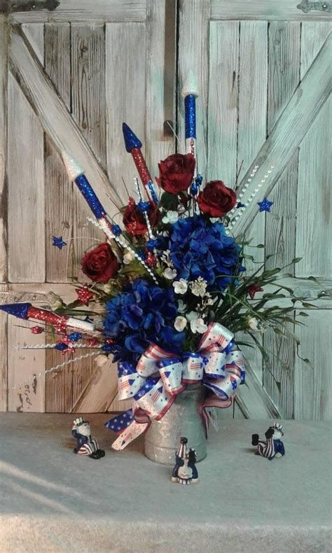 Totally Cute Rustic 4th Of July Decorations 26