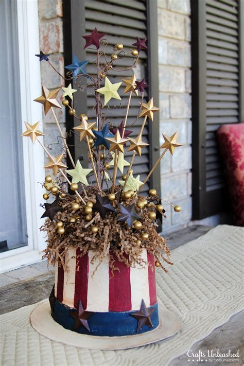 Totally Cute Rustic 4th Of July Decorations 27