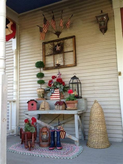 Totally Cute Rustic 4th Of July Decorations 28