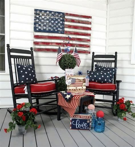 Totally Cute Rustic 4th Of July Decorations 33