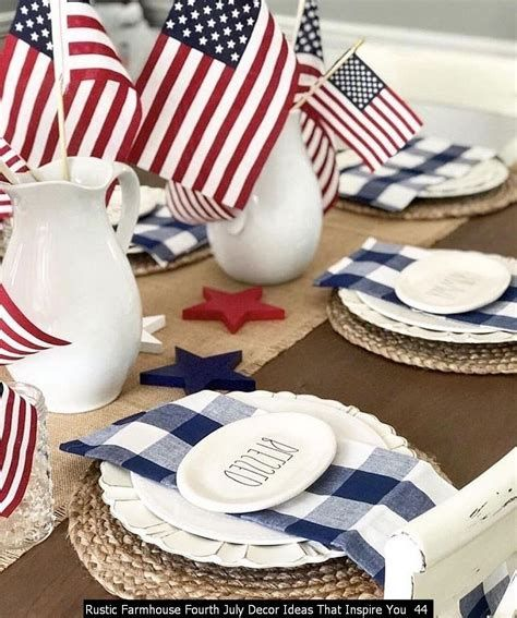 Totally Cute Rustic 4th Of July Decorations 36