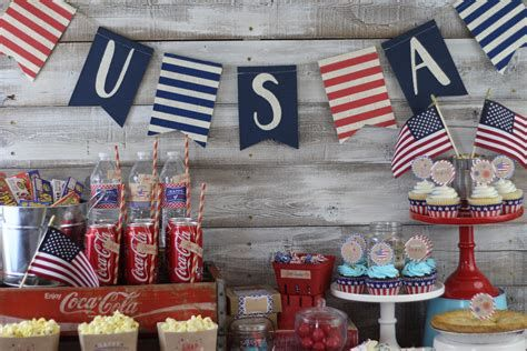 Totally Cute Rustic 4th Of July Decorations 38