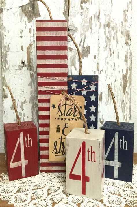 Totally Cute Rustic 4th Of July Decorations 42