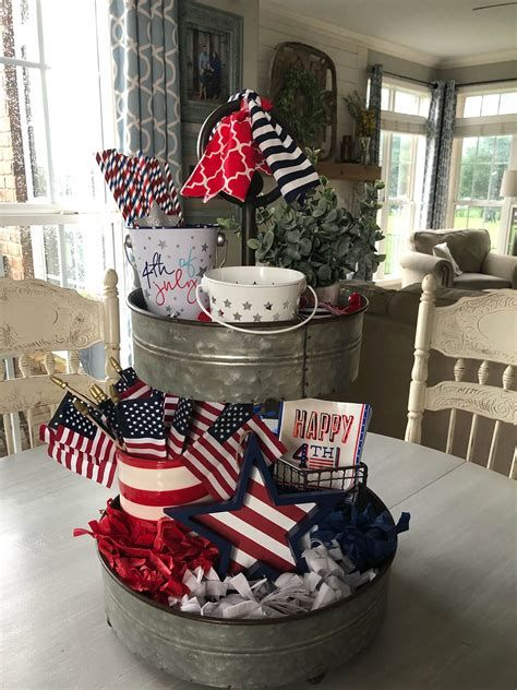 Totally Cute Rustic 4th Of July Decorations 45