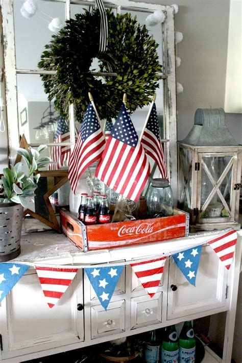 Totally Cute Rustic 4th Of July Decorations 46