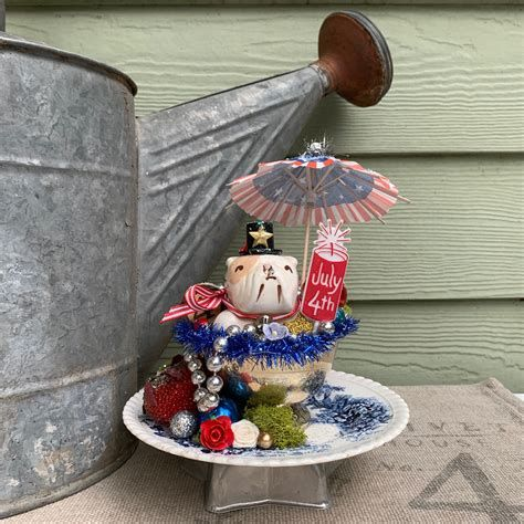 Totally Cute Vintage Fourth Of July Decorations 01