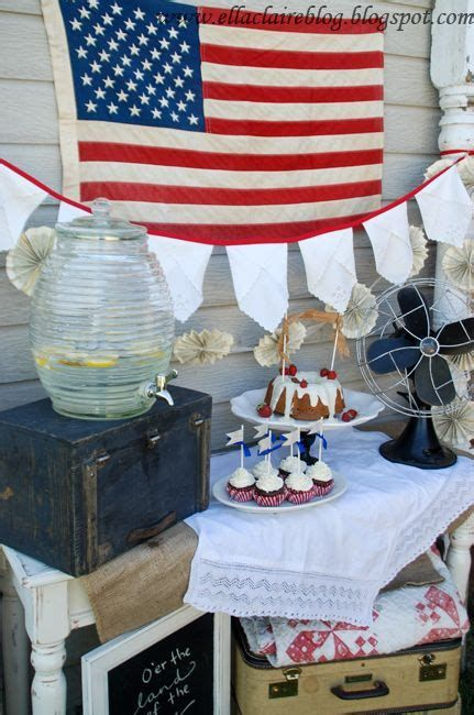 Totally Cute Vintage Fourth Of July Decorations 04
