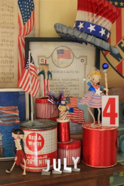 Totally Cute Vintage Fourth Of July Decorations 05