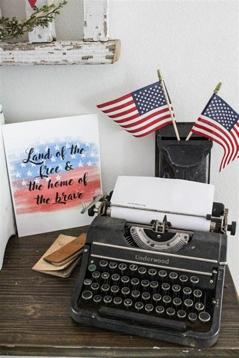 Totally Cute Vintage Fourth Of July Decorations 07