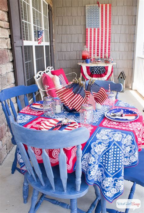 Totally Cute Vintage Fourth Of July Decorations 09