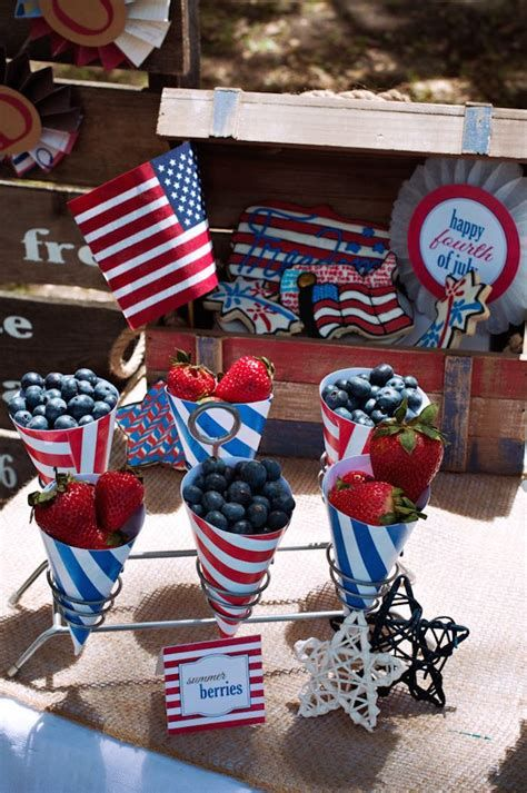 Totally Cute Vintage Fourth Of July Decorations 10