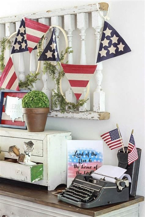 Totally Cute Vintage Fourth Of July Decorations 11