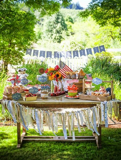 Totally Cute Vintage Fourth Of July Decorations 14