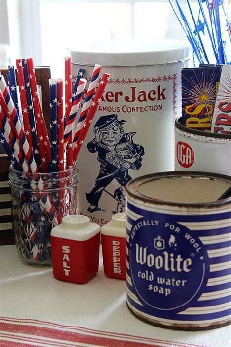 Totally Cute Vintage Fourth Of July Decorations 18