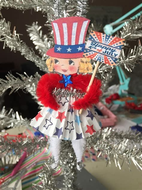 Totally Cute Vintage Fourth Of July Decorations 19