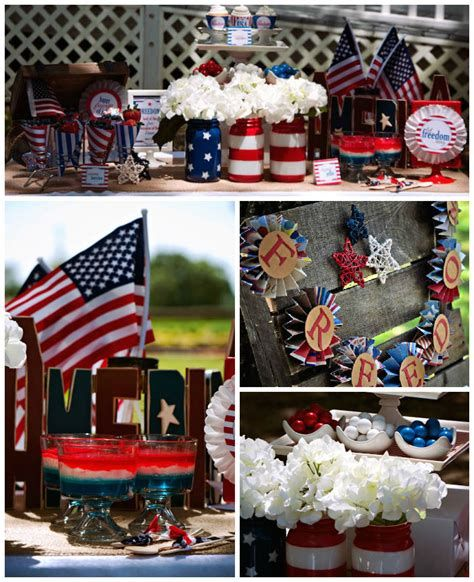 Totally Cute Vintage Fourth Of July Decorations 39