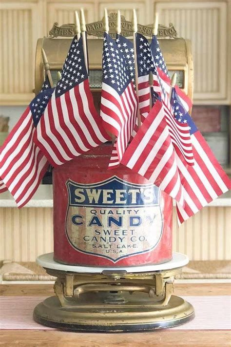 Totally Cute Vintage Fourth Of July Decorations 42
