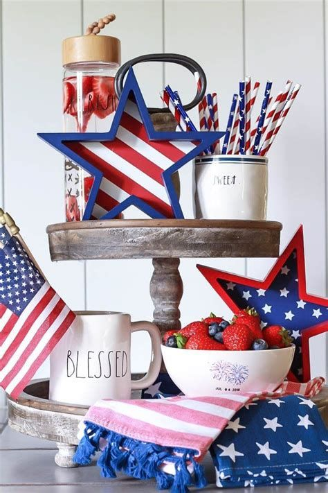 Totally Cute Vintage Fourth Of July Decorations 44