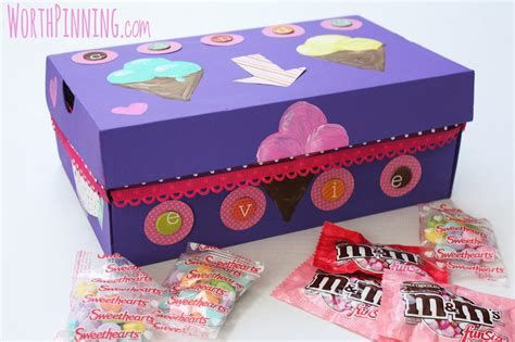 Trending Shoe Box Decoration For Valentines Day 11